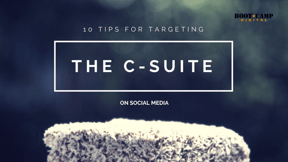 targeting the c-suite on social media
