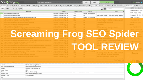 screaming frog seo spider tool review