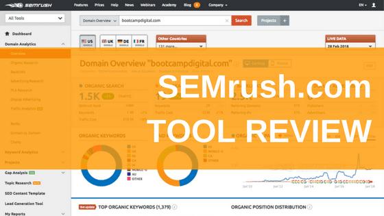 SEMrush.com Tool Review