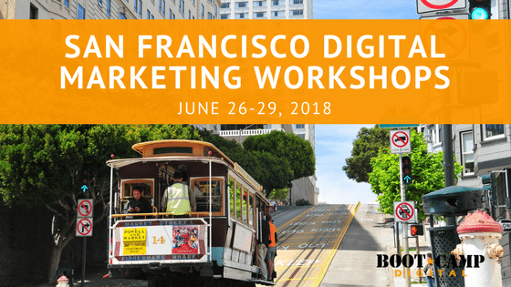 San Francisco digital marketing workshop