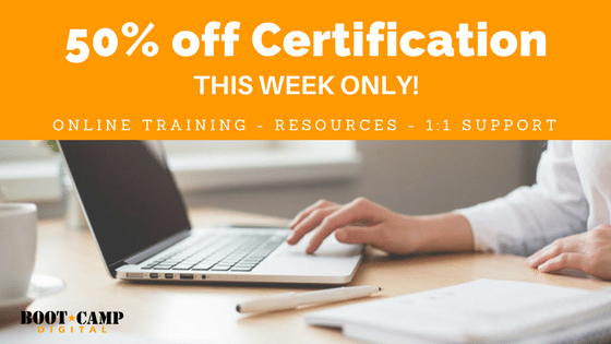 online social media certification sale, online training sale