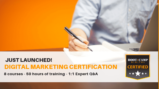 digital marketing certification, digital marketing training, digital marketing online class