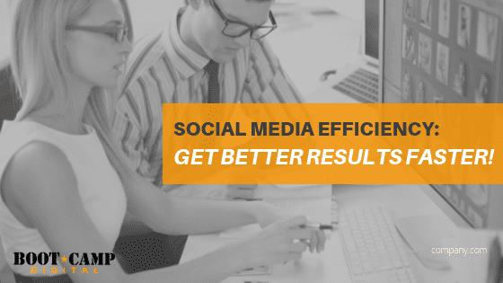 social media efficiency