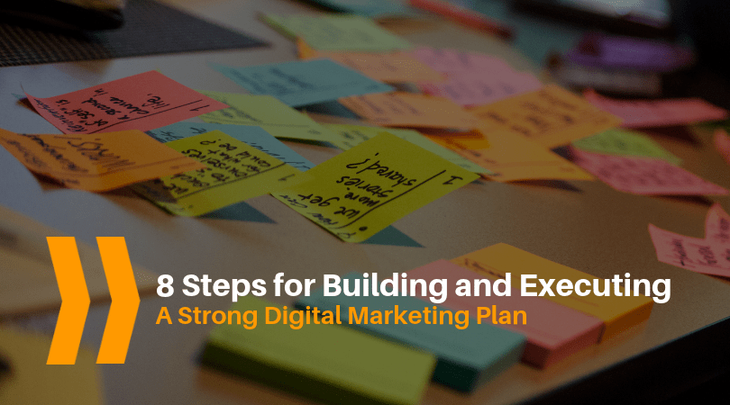 digital marketing plan, digital marketing strategy, executing a digital marketing strategy