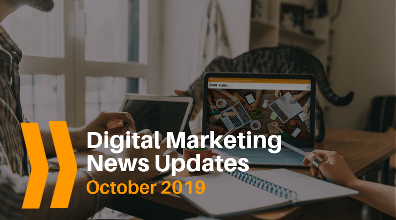 digital marketing news updates, social media updates, search updates