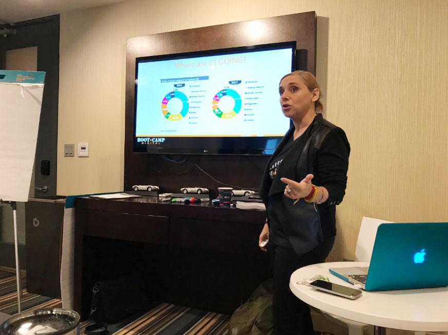 digital marketing and social media consultant speaking
