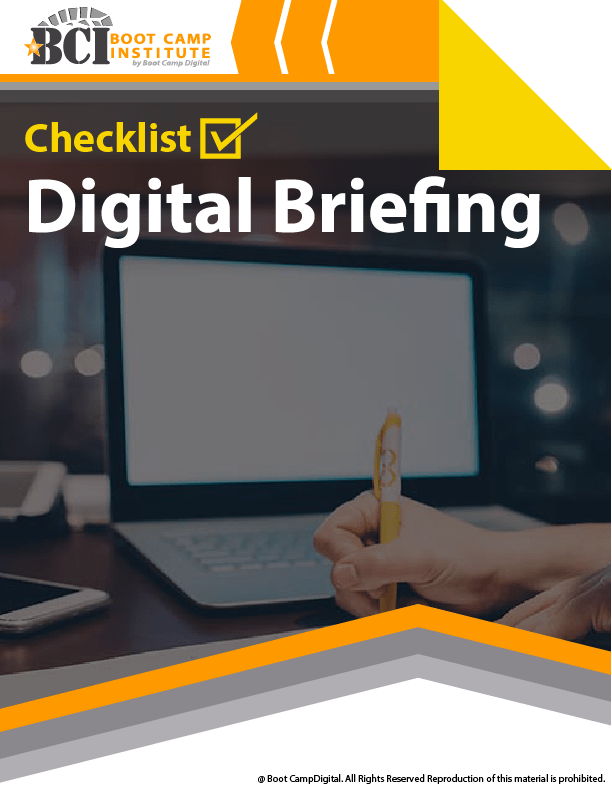 Checklist Digital Briefing