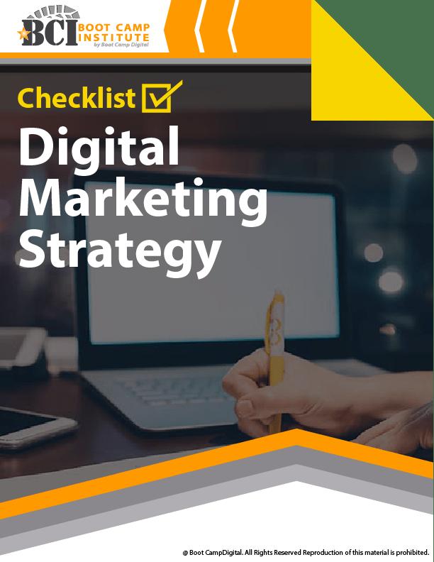 Checklist Digital Marketing Strategy