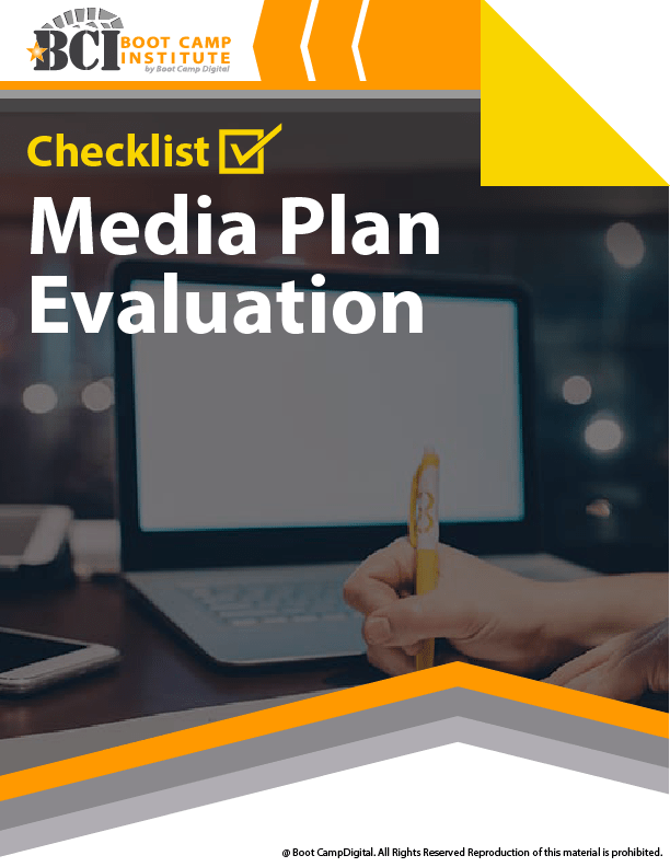 Checklist Media Plan Evaluation