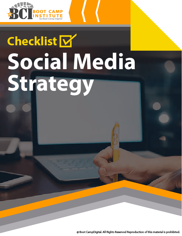 Checklist Social Media Strategy