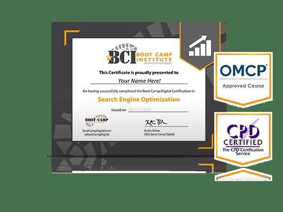 Search Engine Optimization (Seo) Certificate