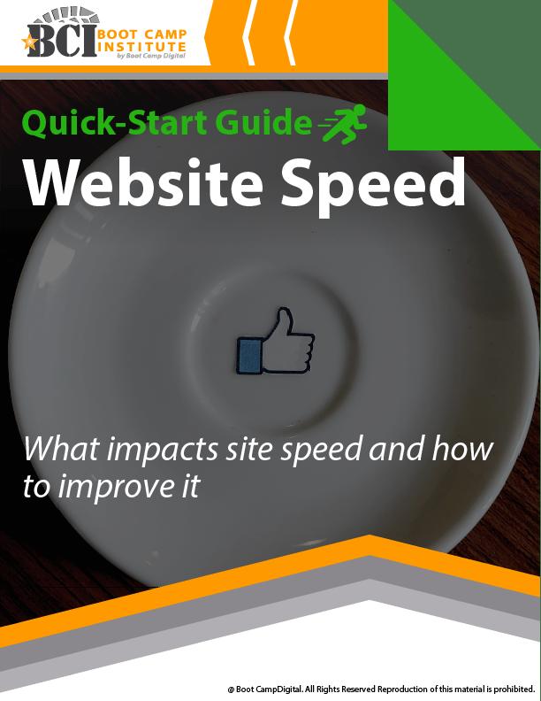 Quick-Start Website Speed
