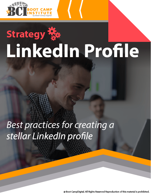 Strategy Best Practices LinkedIn Profile