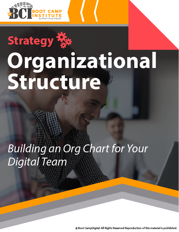 Strategy Building an Org Chart for Your Digital Team