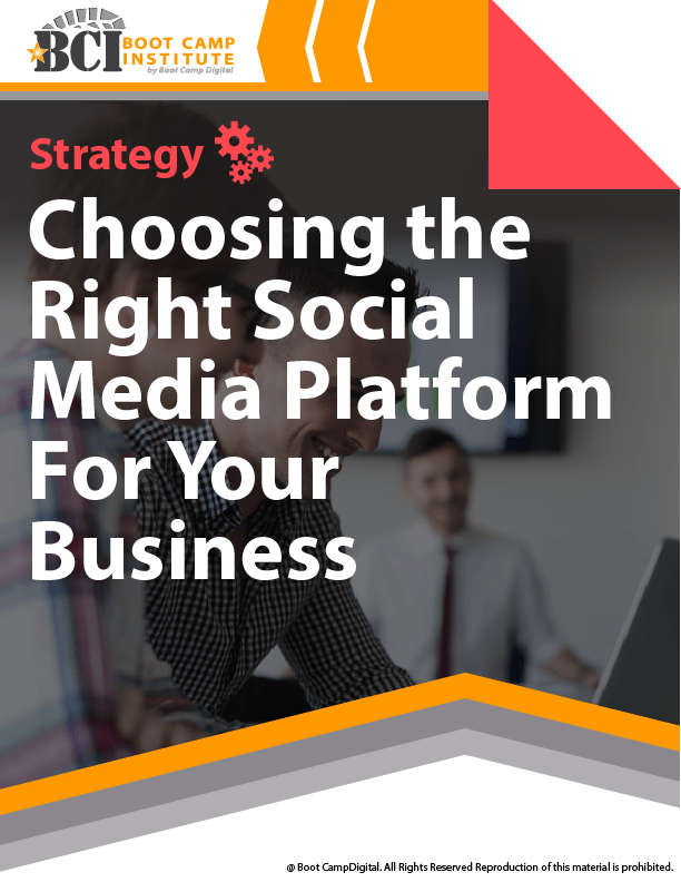 Strategy Choosing the Right Social Media Platform for Your Business