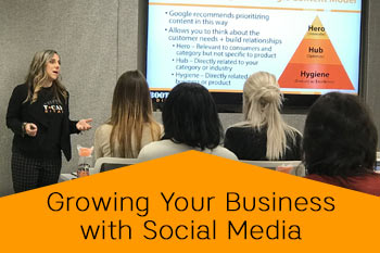 growing your business with social media speaker