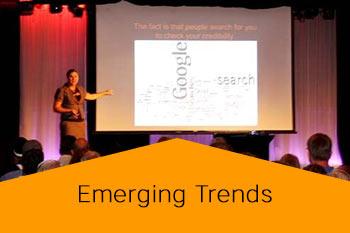 emerging trends speaker