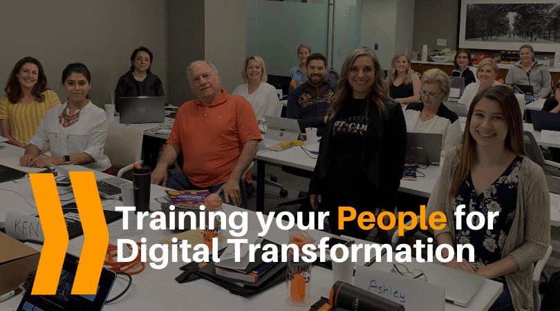 Training your people for digital transformation