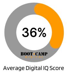 Average Digital IQ Score