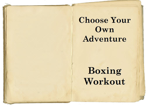 Self Punishment Boxing Workout