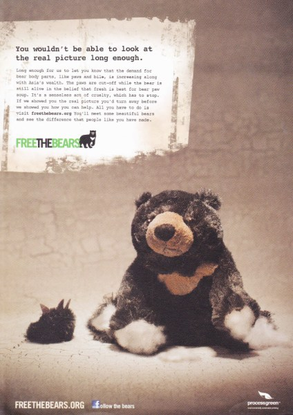 free the bears poster