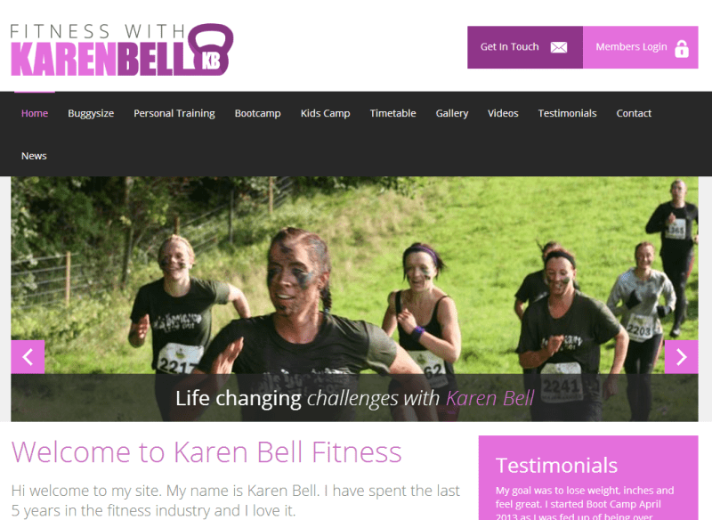 fitness with karen bell