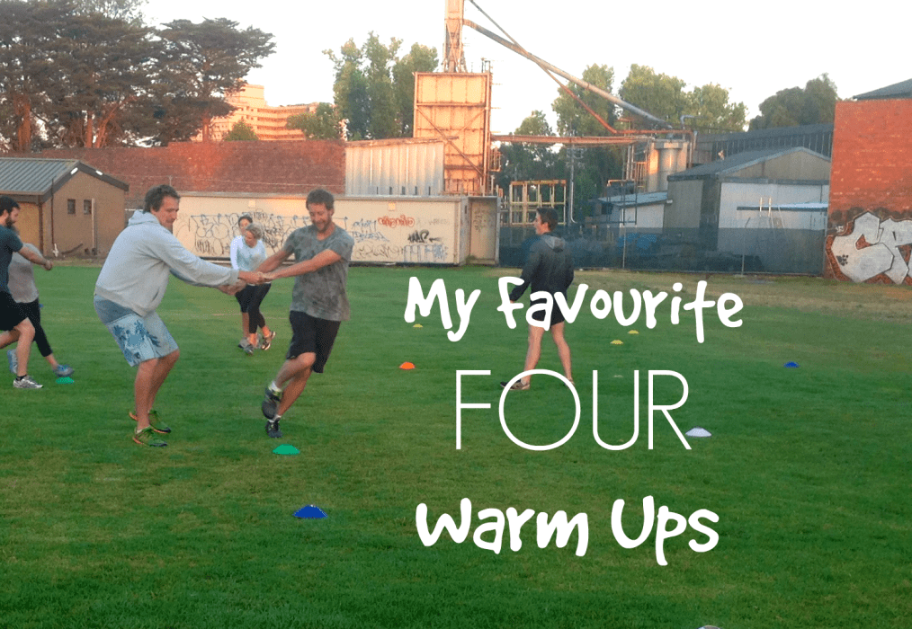 Four Awesome Team-Building, Smile-Cracking Warm-ups