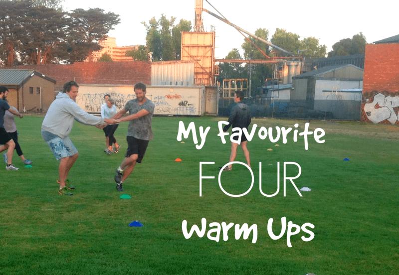four warm ups 2