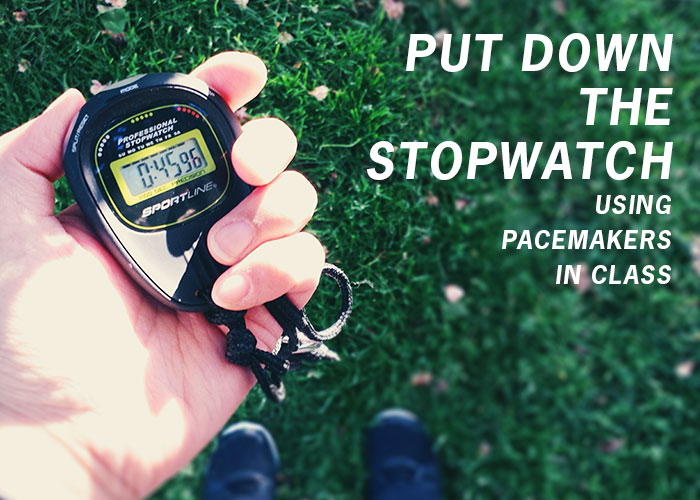 Put Down the Stopwatch – Using Pacemakers in Class