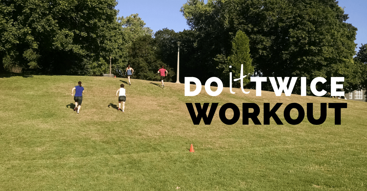 Hill Sprinting, Pyramid Building, Rope Running Drill Circuit Workout