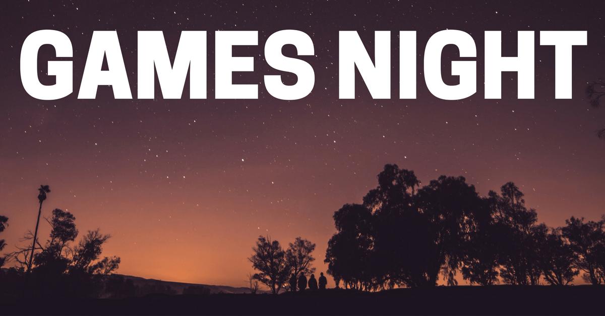 Games Night At Bootcamp