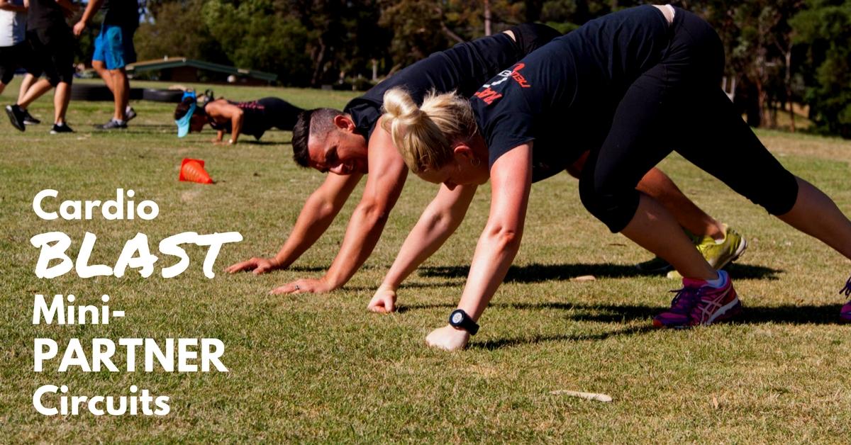Cardio and Mini Circuits Partner Workout