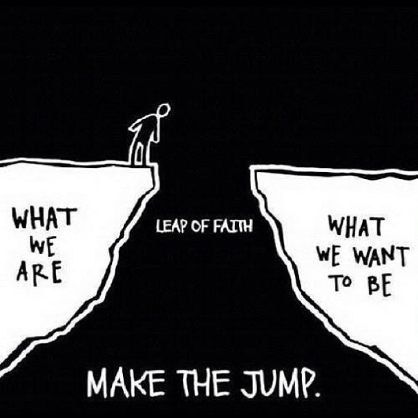 Leap of Faith...