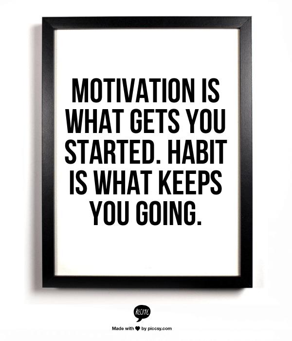 Motivation is...