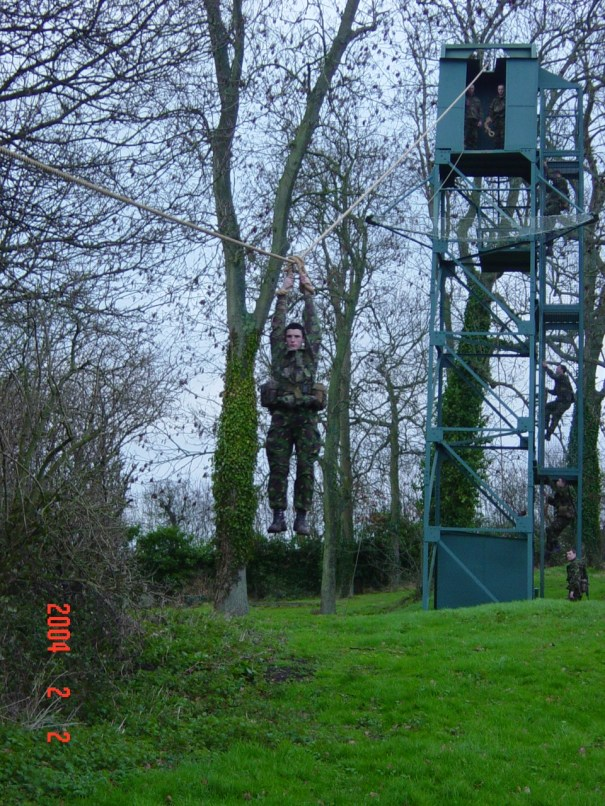 RM, Tarzan Assault Course 1b