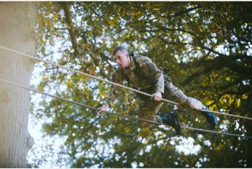 RM, Tarzan Assault Course 5a