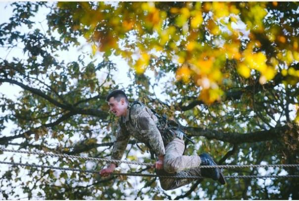 RM, Tarzan Assault Course 5b