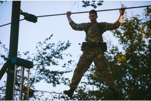 RM, Tarzan Assault Course 6