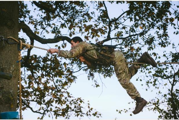 RM, Tarzan Assault Course 6b