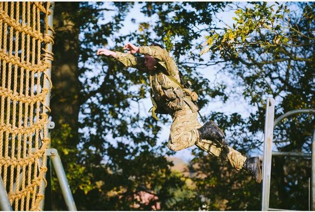 RM, Tarzan Assault Course 9a