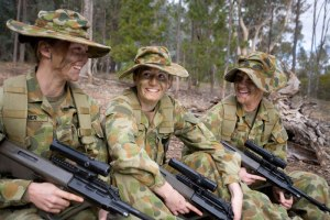ADF Female Recruits