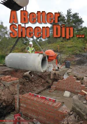 During the latter half of 2014 the 'Sheep Dip' at CTCRM received a complete revamp (Sapper, 2014a)