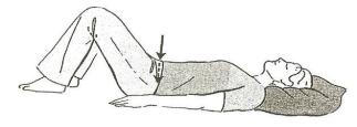 Picture, Pelvic Tilting