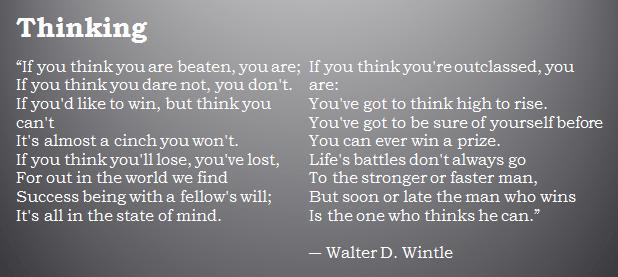 Thinking Poem