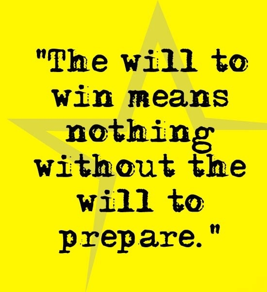 Will to Win Means...