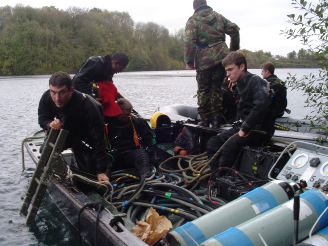 KMB Boat Diving, space not required!