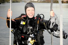 First Female RN Clearance Diver