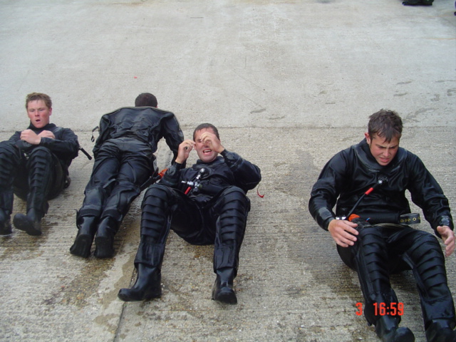 Yes, we still want to be Army divers