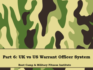 Part 06, UK vs US WO System
