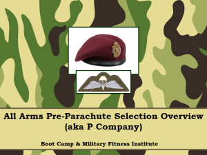 Airborne, P Company, Para, AAPPS